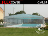 Cobertura túnel da piscina